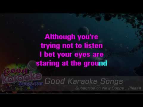 When The Sun Goes Down -  Arctic Monkeys (Lyrics Karaoke) [ goodkaraokesongs.com ]