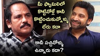 Sumanth about Akkineni Family | Sumanth Honest Interview | Subrahmanyapuram | Telugu FilmNagar