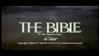 The Bible starring Stephen Boyd - Trailer (1966)