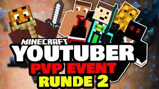 Youtuber 1on1 Event! ✪ [Runde 2] VS. Debitor,GommeHD,Sturmwaffel & McExpertDE