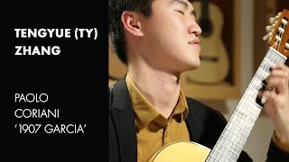 """Dyens """"Fuoco"""" played by Tengyue """"Ty"""" Zhang on a Paolo Coriani """"1907 Garcia"""""""