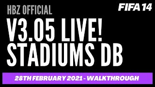 FIP14 v3.05 STADIUMS UPDATE (LIVE walkhrough)