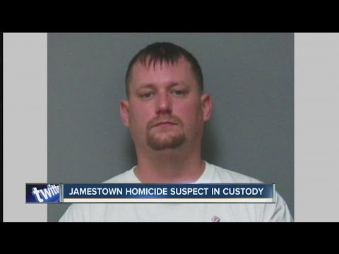 Jamestown murder suspect caught after stand-off
