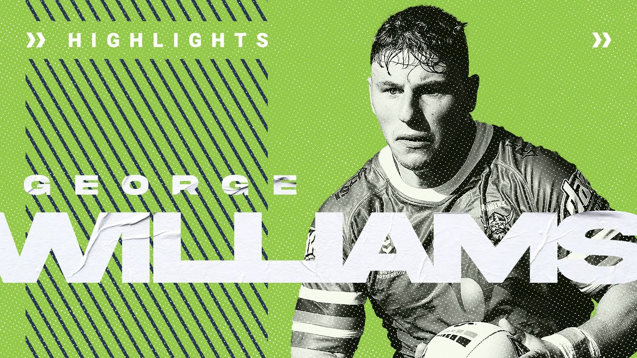 George Williams | Player Highlights | Round 1 - 10 | NRL