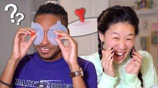 My Husband Reacts To Weird Korean Items!