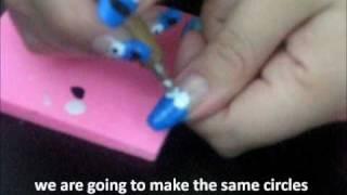 Cookie Monster - Nail Art Tutorial