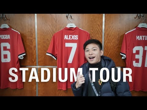 Manchester United Stadium Tour!