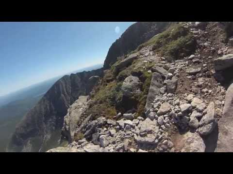 Katahdin Hiking: Cathedral Trail GoPro (with Chimney Pond Trail)