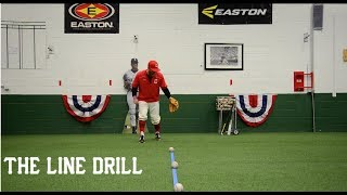 Baseball Infield Drill - The line drill