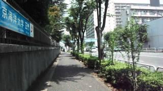 DSCF2499東京海洋大学越中島キャンパスに入る20150720