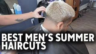 Best men's haircuts to keep you cool and stylish this summer