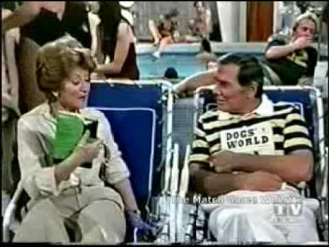 The Love Boat with Gene Rayburn and nie Flagg 1 of 3