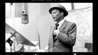 Frank Sinatra Sorry Seems To Be The Hardest Word With Lyrics
