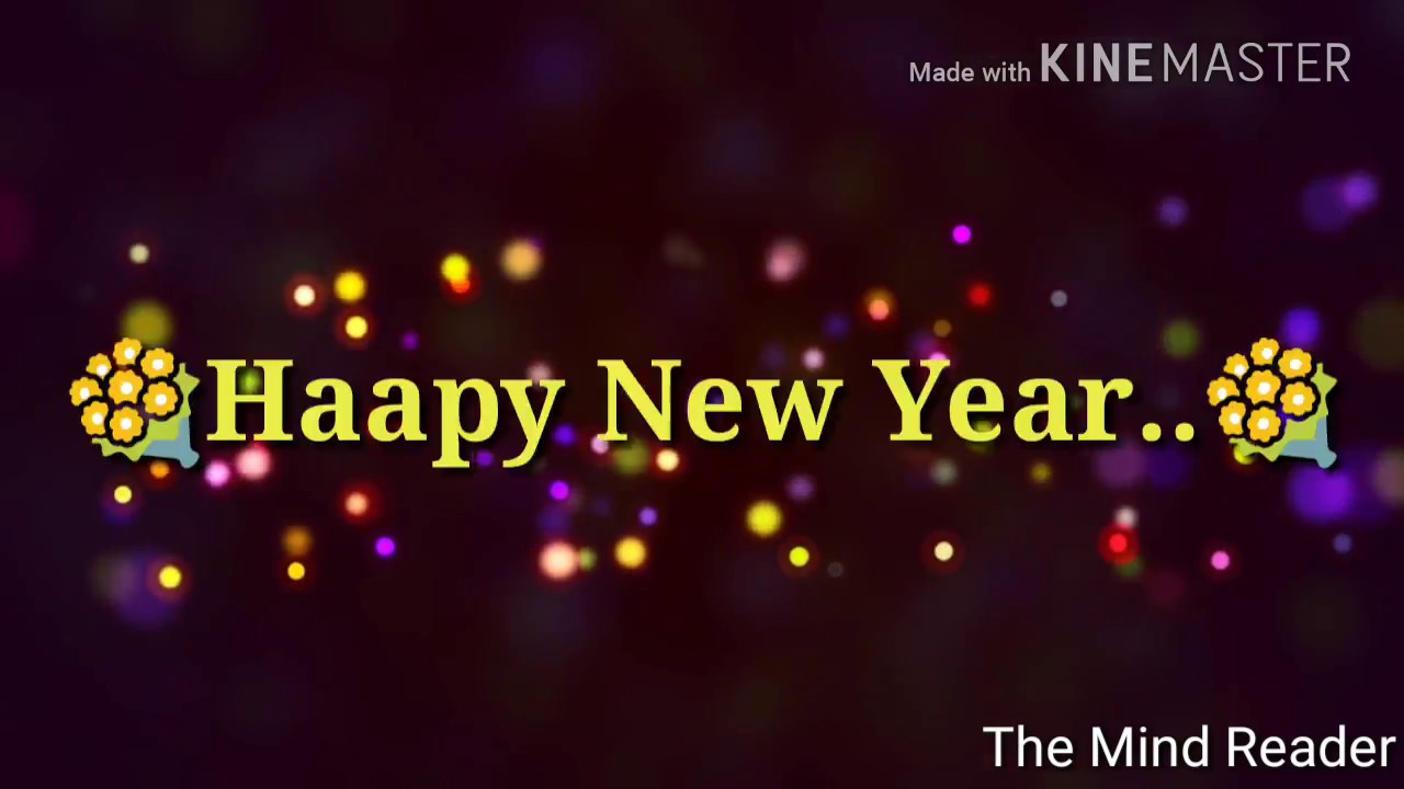 Happy New Year Wishes Latest Whatsapp Video Status In Hindi 2018 ...