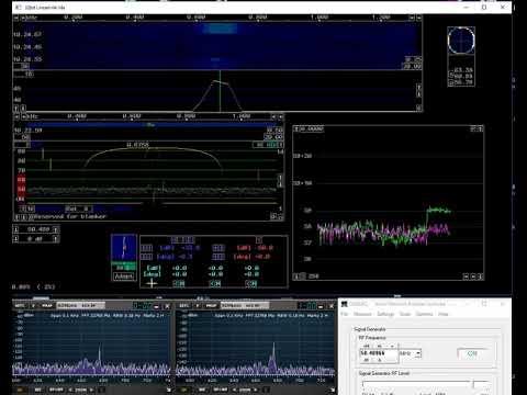 RSPduoでのノイズキャンセルの実験 - Linrad使用