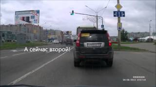 "Череповец, мусорщик на ""китайце"""