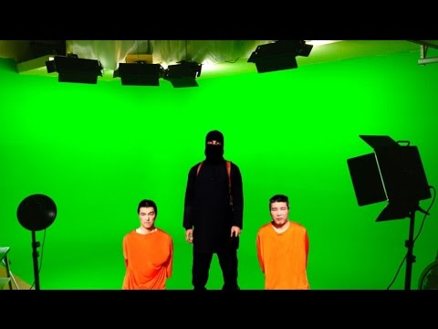 Staged ‪ISIS‬ Execution Video Leaked By ‪Hackers‬