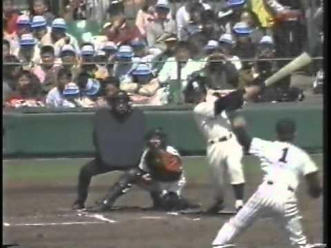 1990年選抜高校野球 鹿児島実業v...