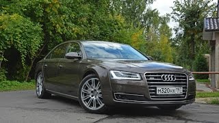 Audi A8 Long 2014 Facelift 3rd generation (D4) footage