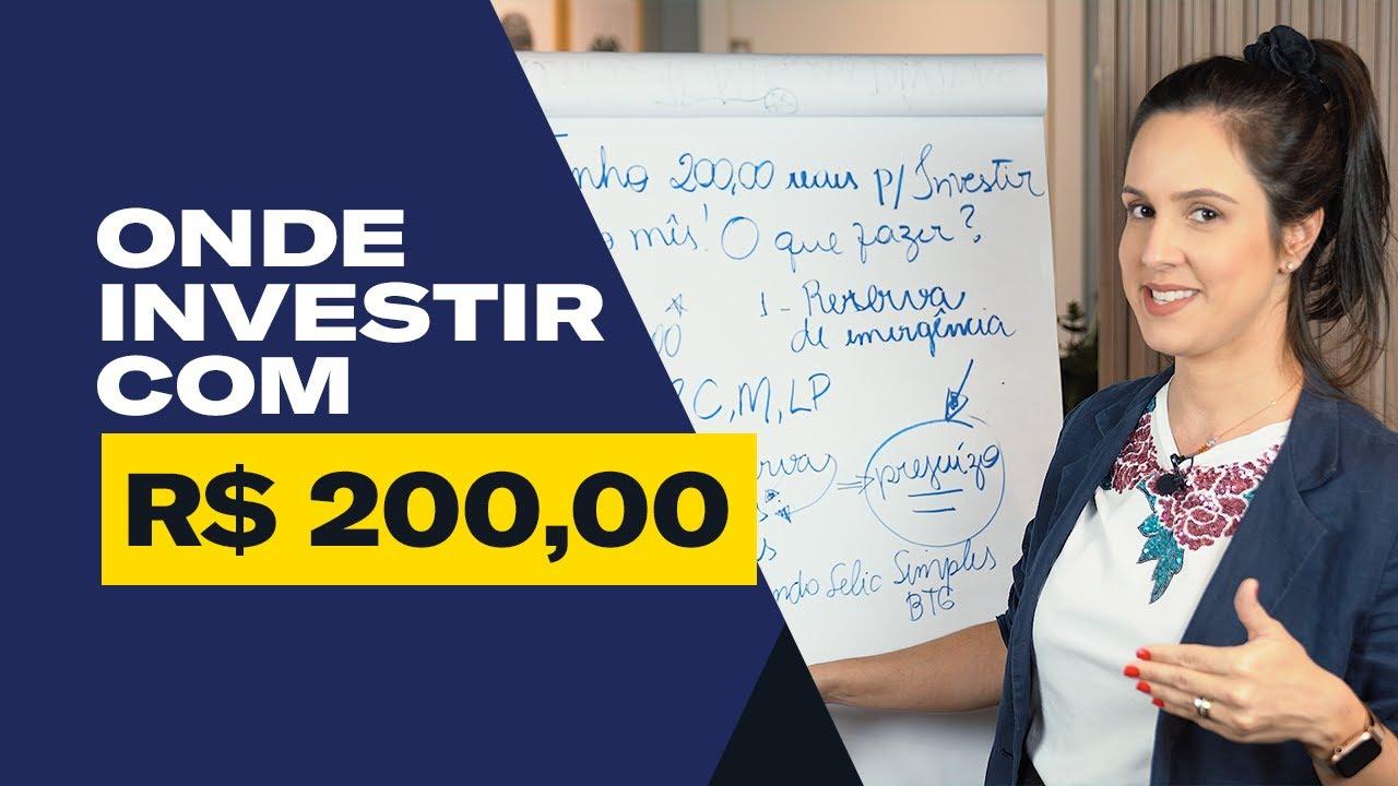 Download Como INVESTIR com POUCO DINHEIRO! (Investindo R$ 200,00)