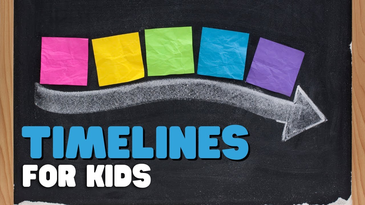 Timelines for kids - A comprehensive overview of timelines for k-6 students  - YouTube [ 720 x 1280 Pixel ]