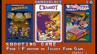 "Three Wonders (Arcade) ""Chariot"" Game Clear"