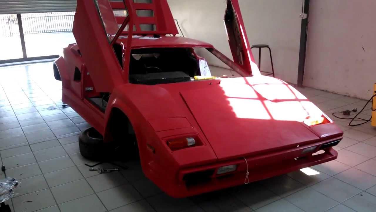 Lamborghini Replica Kit Car Walkaround - YouTube