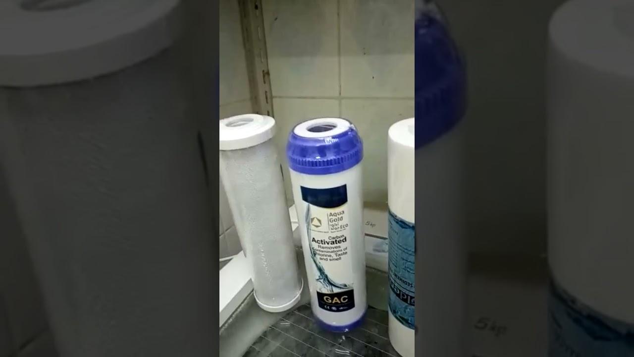 طريقة تغيير شمعات فلاتر تحلية المياه