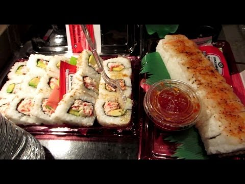 how to eat sushi youtube