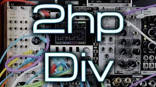 black... 2hp Div 2 Channel Voltage Controlled Clock Divider /& Multiplier Module