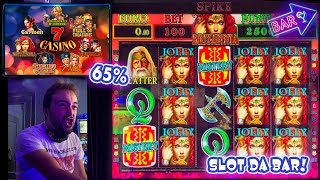 SLOT MACHINE da BAR - Provo la 7 CASINO al 65%