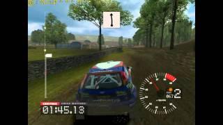 Colin McRae Rally 3 PC Gameplay e5300 @3.6GHz ATi 5770