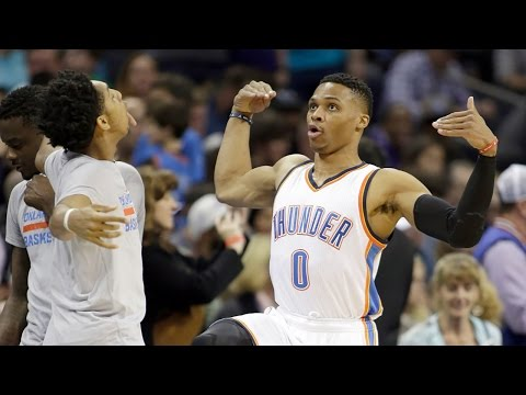 Russell Westbrook Does 'Juju on That Beat' Pregame Dance w/ Cameron Payne Before 17th Triple-Double