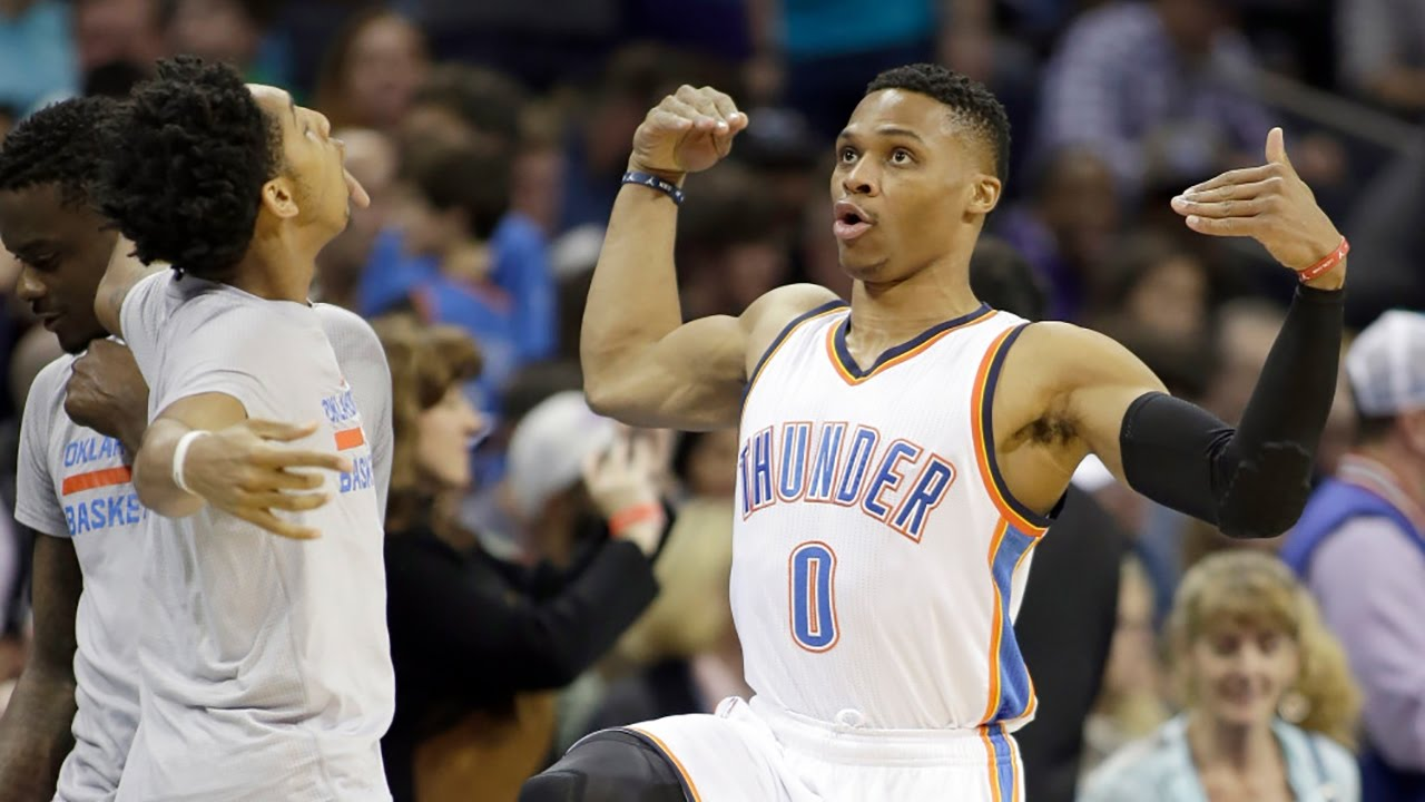 Russell Westbrook Does Juju On That Beat Pregame Dance W