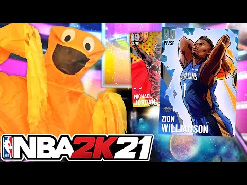 Dark Matter ZION WILLIAMSON is HERE! NBA 2K21 - Troydan