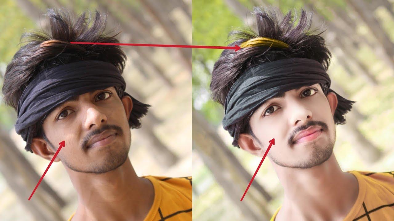 Lightroom Hair Editing Tutorial    Autodesk Style Hair Editing   Hair+ Face Smooth Editing tutorial