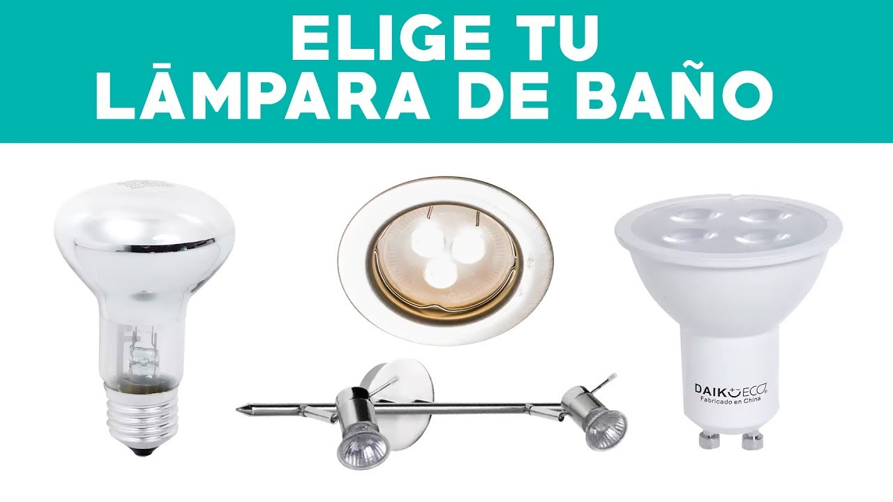 ¿Cómo elegir lámparas para el baño?