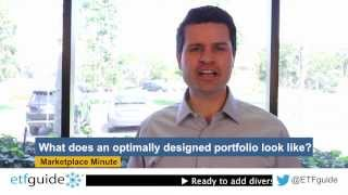 What does an optimally designed portfolio look like?