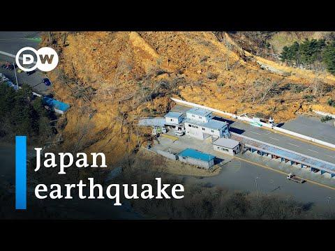 Magnitude 7.3 Earthquake Hits Japan Off Fukushima Coast   DW News