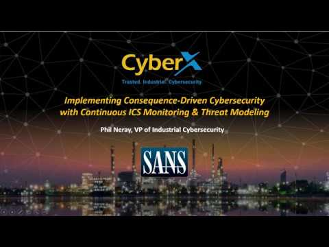 SANS Webinar: CCE — INL's New Approach to Securing Critical