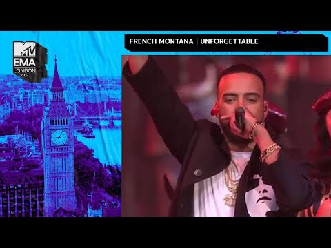 French Montana & Swae Lee Perform Unforgettable  MTV EMAs 2017   Performance