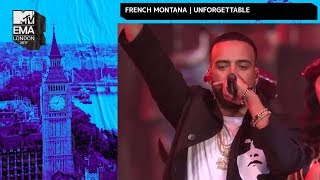 French Montana & Swae Lee Perform 'Unforgettable' | MTV EMAs 2017 | Live Performance
