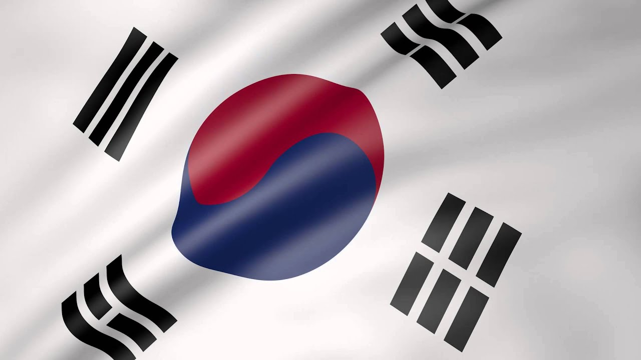 Animated flag of south korea youtube - Picture of a korean flag ...