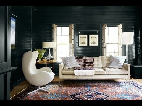 Dark Wall Color as Room Design - Best Ideas for a Perfect Ambience