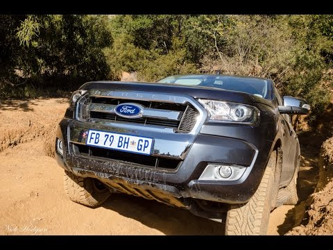 Ford Ranger 2016 dominates offroad 4x4 test at Hennops