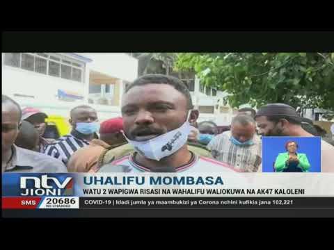Mtu mmoja auawa kwa kupigwa risasi na wezi, Mombasa