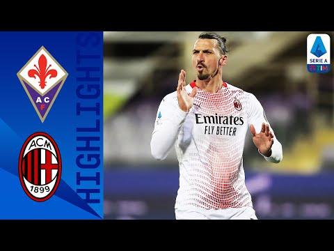 Fiorentina 2-3 Milan | I rossoneri consolidano il secondo posto! | Serie A TIM