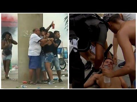شاهد: أعمال عنف تفسد أجواء نهائي كأس غوانابارا البرازيلي …  - نشر قبل 6 ساعة