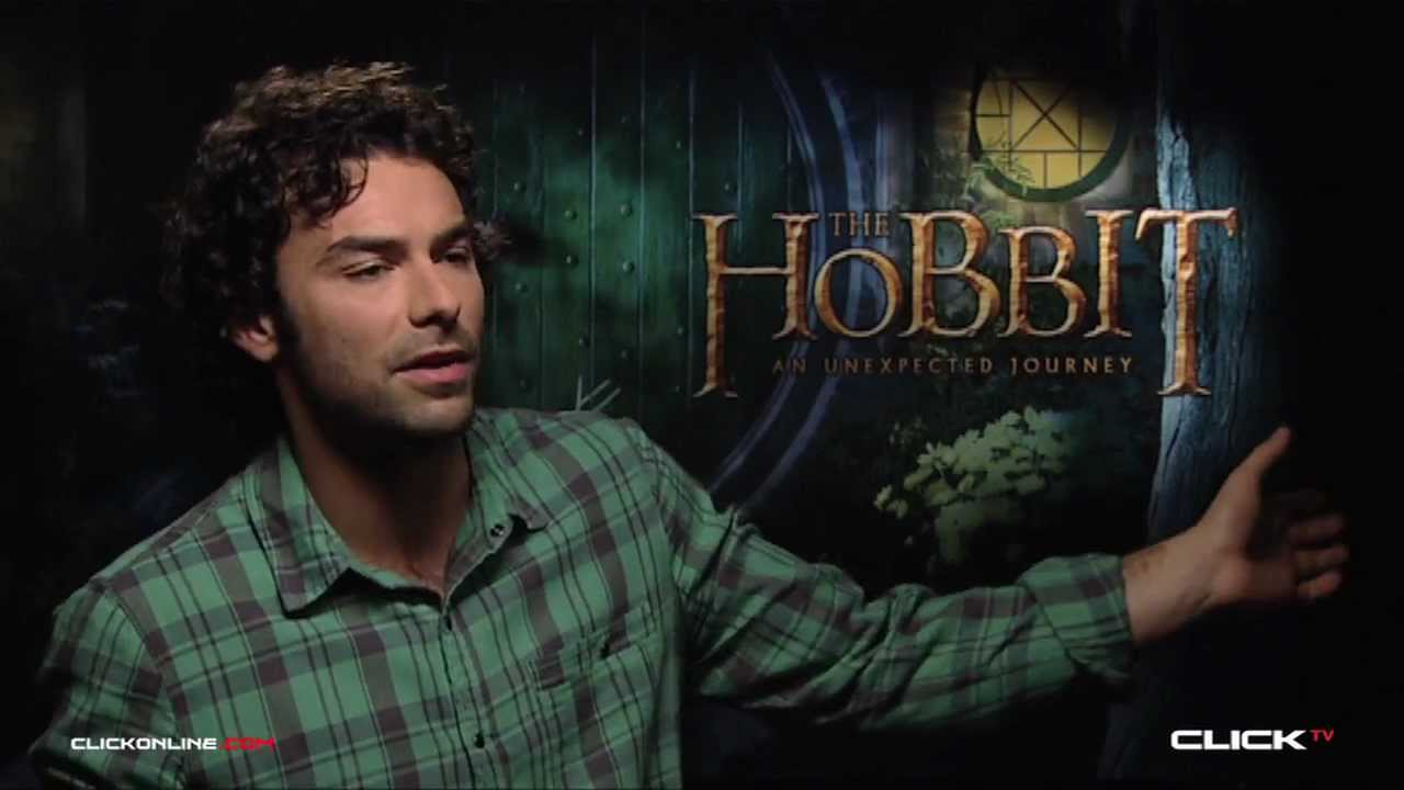 The Hobbit: An Unexpected Journey Interview - Aidan Turner - YouTube