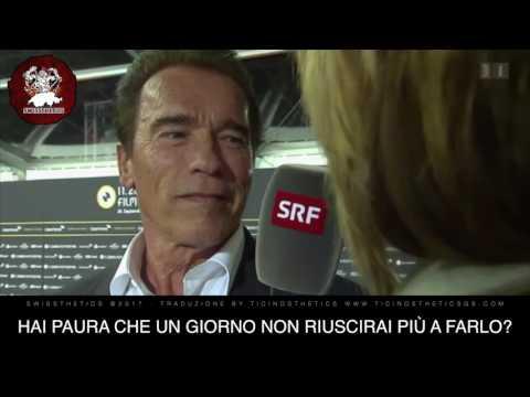 """Arnold Schwarzenegger """"Ich muss trainieren"""" - Deutsche Interview mit ITA SUB"""